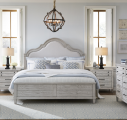 Belhaven Upholstered Panel Bed by Legacy Classic