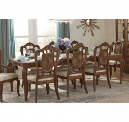 Moorewood Park Dining Table by Homelegance