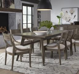 Greystone Rectangular Leg Table by Legacy Classic