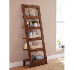 Antique Brown Five Shelf Etagere by Coaster