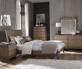 Liatris Platform Bed by Homelegance