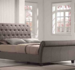 Emerald Home Furnishings Innsbruck-Upholstered-Sleigh-Bed