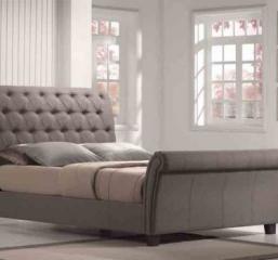 Emerald Home Furnishings Innsbruck-Upholstered-Sleigh-Bed