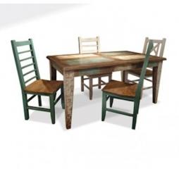 Horizon Home U2013 Primitiva Dining Set ...