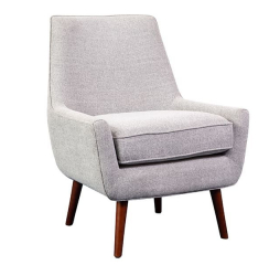 Miles Gray Accent Chair by Porter