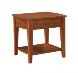 Davenport End Table by Winners Only