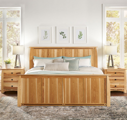 Adamstown Panel Bed by A-America