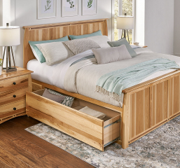 Adamstown Storage Bed by A-America