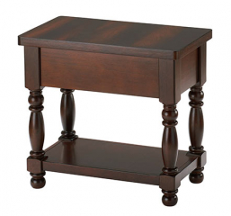 Hamilton Park Chair Side Table by Winners Only
