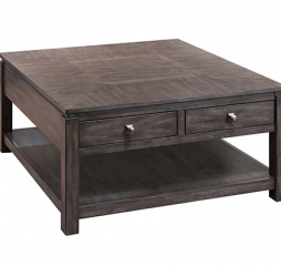 Hartford 40″ Four Drawer Square Coffee Table by Winners Only