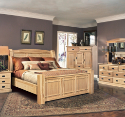 Amish Highlands Arch Panel Bed by A-America