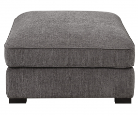 Repose Cktl Ottoman-Charcoal by Emerald Home Furnishings