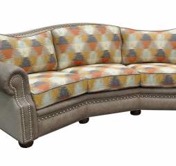 Aledo Conversation Sofa by Omnia Leather