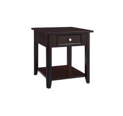 Metro One Drawer End Table by Winners Only