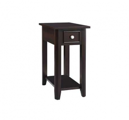 Metro One Drawer Chair Side Table by Winners Only