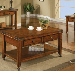 Mango Two Drawer Coffee Table by Winners Only