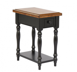 Quails Run One Drawer Chair Side Table by Winners Only