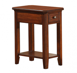 Topaz One Drawer Chair Side Table by Winners Only