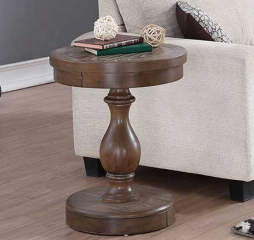 Xcalibur 20″ Round End Table by Winners Only