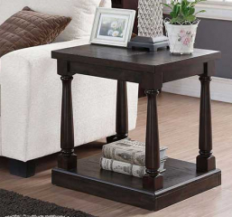 Xcalibur 20″ Rectangular End Table by Winners Only