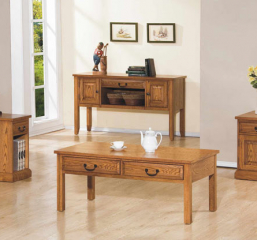 Zahara Two Drawer Coffee Table by Winners Only