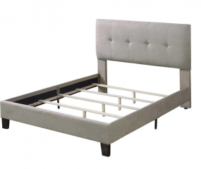 Harper Upholstered Bed by Emerald Home Furnishings