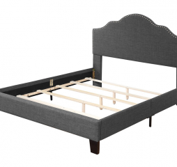 Madison Upholstered Bed by Emerald Home Furnishings