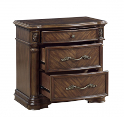 Barbary Nightstand by Homelegance