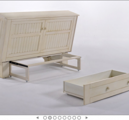 Daisy Murphy Cabinet Bed By Night and Day