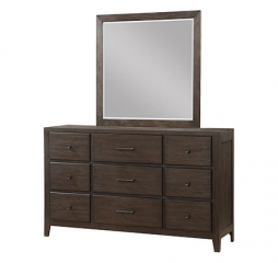 Hanson 40″ Square Mirror by Winners Only