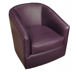 Bella Swivel Accent Chair by Omnia