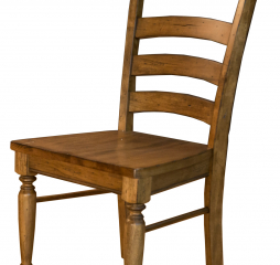 Bennett Ladderback Wood Seat by A-America