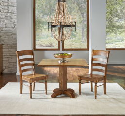 Bennett Square Drop Leaf Table by A-America
