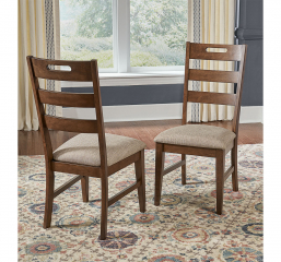 Blue Mountain Ladderback Chair by A-America