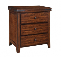 Mango Three Drawer Nightstand by Winners Only