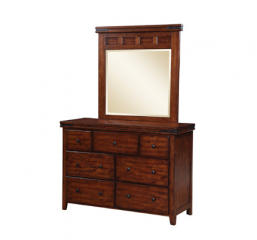 Mango 50″ Seven Drawer Youth Dresser by Winners Only