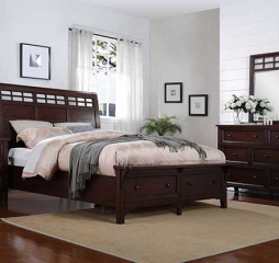 Retreat Sleigh Storage Bed by Winners Only