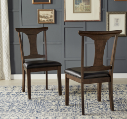 Brooklyn Heights T Back Side Chair by A America