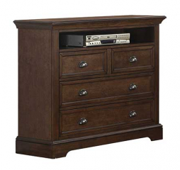Tamarack 44″ Four Drawer TV Chest by Winners Only
