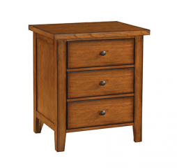 Vintage 28″ Three Drawer Nightstand by Winners Only