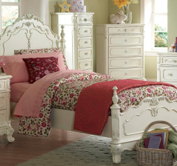 Cinderella Twin Bed by Homelegance