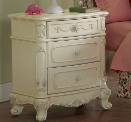 Cinderella Nightstand by Homelegance