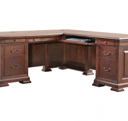 Classic 72″ Desk w/ 50″ Return by Winners Only
