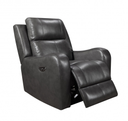 Cortana Glider Recliner by Leather Italia