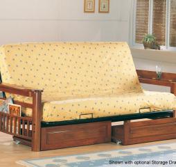 Traditional Oak Futon Frame by Coaster
