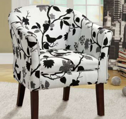 Playful Bird and Branch Accent Chair by Coaster