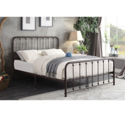 Larkspur Platform Bed by Homelegance