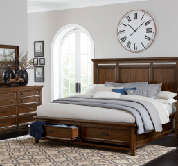Frazier Park Bed by Homelegance