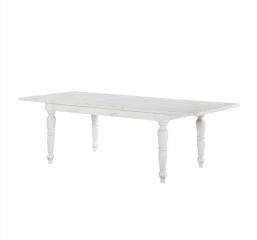 Abaco Rectangular Dining Table w/ 24″ Butterfly Leaf by Emerald Home Furnishings