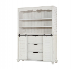 Abaco Buffet and Hutch by Emerald Home Furnishings